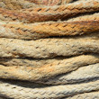 Stock Photo: Rope texture