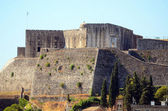 Kerkyra town fortress - Capital of Corfu isalnd Greece — Stock Photo