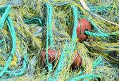 Fishing net background — Stock Photo