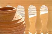 Traditional Greek vase — Zdjęcie stockowe
