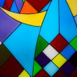 Multicolored glass mosaic background — Foto Stock #13569268