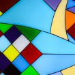 Abstract glass mosaic background — Stock Photo