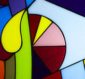 Colorful glass — Stock Photo
