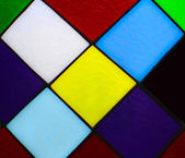 Colorful glass mosaic — Stock Photo