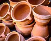 Glazed ceramics or earthenware — Stock Photo