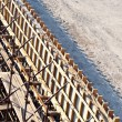 Bridge construction site - Stock Photo