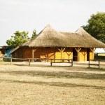 Barn at farm land or ranch — Stock Photo #14092717