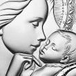 Virgin Mary holding baby Jesus — Stock Photo #14095161
