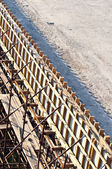 Bridge construction site — Stock Photo