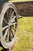 Cannon wheel — Stock Photo