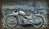 Classic motorcycle — Stock Photo