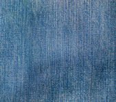 Blue denim jeans texture — ストック写真