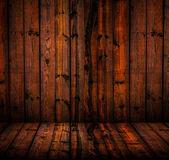 Grunge wood room — Stock Photo