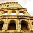 Stock Photo: Vintage postcard of Coloseum in Rome