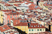 View on old town of Nice- France — Stock Photo