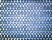 Blue grunge damask background — Stock Photo