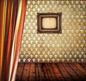 Interiér prázdné starožitný pokoj — Stock fotografie