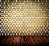 Wnętrze starych pusty pokój guma — Zdjęcie stockowe