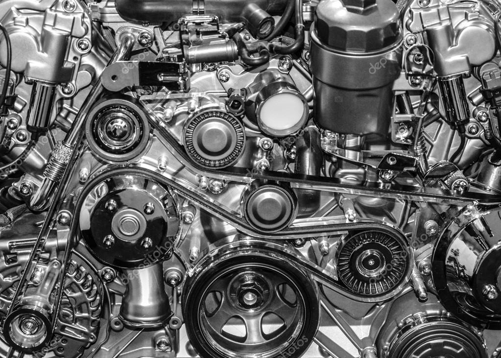 Sports Cars Engines Sport Car Engine — Photo by