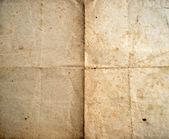 Eski katlanmış kağıt sayfa arka planı — Stok fotoğraf