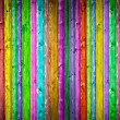 Multicolored wooden background — Stock Photo