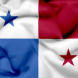 Panama waving flag — Stock Photo