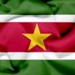 Stock Photo: Suriname waving flag