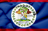 Belize waving flag — Stock Photo