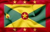 Guernsey waving flag — Stock Photo