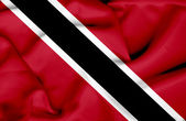 Trinidad and Tobago waving flag — Stock Photo