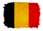 Belgium grunge flag — Stock Photo