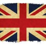 United Kingdom grunge flag — Stock Photo #18620917