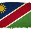Namibia grunge flag — Stock Photo