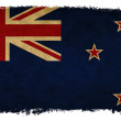 New Zealand grunge flag — Stock Photo #18621973