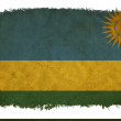 Stock Photo: Rwandgrunge flag