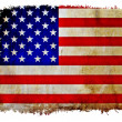 vintage usa flag — Stock Photo