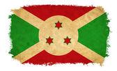 Burundi grunge flag — Stock Photo