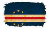Cape Verde grunge flag — Stock Photo
