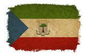 Equatorial Guinea grunge flag — Stock Photo