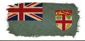 Fiji grunge flag — Stock Photo