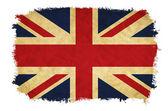 United Kingdom grunge flag — Stock Photo