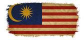 Malaysia grunge flag — Stock Photo