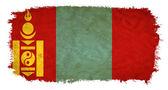 Mongolia grunge flag — Stock Photo
