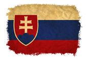 Slovakia grunge flag — Stock Photo