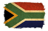 South Africa grunge flag — Stock Photo