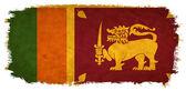 Sri lanka grunge bayrağı — Stok fotoğraf