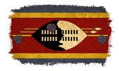 Swaziland grunge flag — Stock Photo