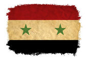 Syria grunge flag — Stock Photo