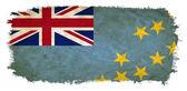 Tuvalu grunge flag — Stock Photo