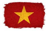 越南 grunge 旗 — 图库照片